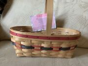 Vintage 1994 Longaberger Easter Basket Unstained With Protector