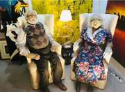 Life-size Soft Sculptures By Susan Nolan And Kelly Nolan Wright
