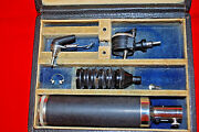 Wappler American Cystoscope Makers Set Ny Doctors Tools In Box Vintage S6431