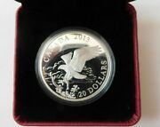 2013 20 Fine Silver Coin -the Bald Eagle-returning From The Hunt 99 Silver