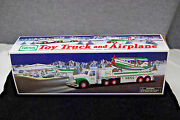 2002 Hess Toy Truck And Airplane  Mint In Box  S5825