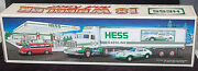 1992 Hess 18 Wheeler Truck And Racer Mint New Unopened Box S6080