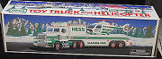 1995 Hess Toy Truck And Helicopter Mint  S6083