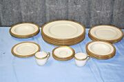 Lenox Countess Bailey Banks And Biddle 1912 Antique Set Of 24 Dishes  L2384