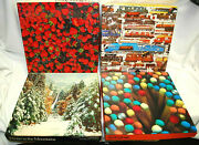 Springbok, Eaton And Nordevco Assorted Jigsaw Puzzles 500+ Pieces 4 Total S9008