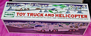 2006 Hess Toy Truck And Helicopter  Unopened Box  S4714
