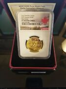 2020 Canadian Early History New France - 200 Pure Gold Coinandnbsp Ngc Pf70
