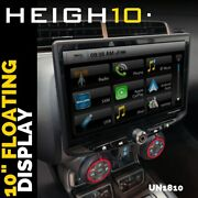 Stinger Heigh10 Un1810 10and039and039 Floating Car Stereo Apple Carplay Android Auto Radio