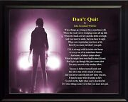 John Greenleaf Whittier Donand039t Quit Print Picture Or Framed Wall Art