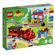 Lego Duplo 10874 My Town Buildable Locomotive Push And Go Motor Steam Train