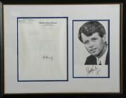 Unknown Artist Robert Kennedy Letter And Photo Letters And Photograph Autogra