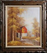 Robert Moore, Old Sawmill, Oil On Canvas, Signed