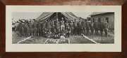 Unknown Artist 107th U.s. Cavalry - Pyle Photograph Signed S. Macdonald