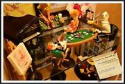 Extremely Rare Tex Avery Playing Poker With Droopy Demons And Merveilles Statue