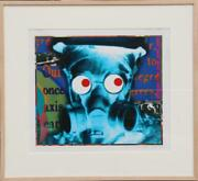 John Waters Visual Chemistry - Gas Mask Digital Print Signed And Numbered In