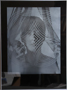 Ellen Carey Face Of A Woman Photo-screenprint Signed And Numbered In Pencil