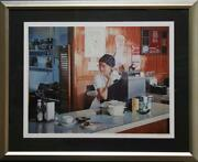 Ralph Goings One-eleven Diner Screenprint Signed And Numbered In Pencil