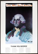 Peter Max Peter Max Painting America George Washington Poster