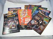 Pinball Advertising Promotional Flyers Genie, Monster Bash, Cactus Canyon  12