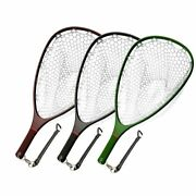 Aventik Floating Carbon Fiber Landing Net Clear Rubber Ghost Net Catch And Release
