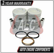 Piston And Ring Set Fits Chevrolet Chevy Monza Corsa 1.4 L Sohc - Size 030