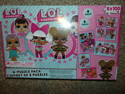 Lol Surprise Dolls 8 Pack 100 Pieces Each Jigsaw Puzzle Eight Puzzles New In Box