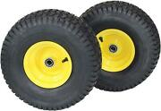 John Deere Riding Lawn Mowers Front Tire Replacement Parts Accessories 2 Pack