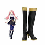 Fire Emblem Three Houses Officers Academy Golden Deer Hilda Cosplay Shoes Boots@