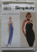 Simplicity Sewing Pattern9262sizes 16-20uncut/ffplus Size Evening Dress Gown