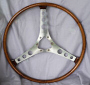 Corvette C1 Teak Wood Steering Wheel - Read For Availability And Important Details