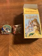 Wdw Fantasyland Beauty And The Beast Silly Girls And Beast Pins With Box