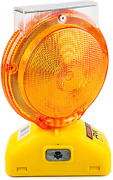 Rk Safety Blight-st Solar Rechargeable Barricade Amber Led Warning Lights | Type