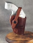 J Frame 3 Owb Two Position/ Crossdraw Custom Leather Holster By Etw Holsters