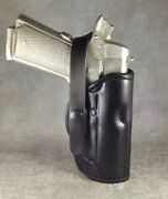1911 Commander Owb Two Position/ Crossdraw Custom Leather Holster..etw Holsters