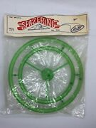 Rare Vintage Spazering Toy Original Packaging New Top Spinning Game Green