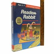 Sealed Apple Ii Reader Rabbit Educational Computer Game Ages 3-7 New 5.25 Disk