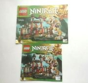Lego Ninjago 70505 Temple Of Light Instruction Manual Book 1 And 2 Only
