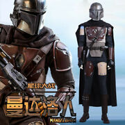 Star Wars The Mandalorian Cosplay Costume Menand039s Uniform Armor Outfit Full Set