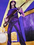 Roger Waters Print Poster Pink Floyd Concert The Wall Cd Fender Precision Bass