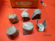 Battery Post-soft-lead Shim Cap= -lot Of 6== Made In Usa