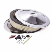 Proform 141-302 Engine Air Cleaner Kit 14 Inch Diameter Chrome For Chevy New