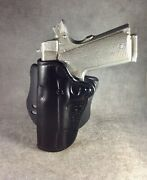 1911 Commander Owb Custom Leather Paddle Holster Left Etw Holsters, Hickory, Nc