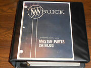 1954-1974 Buick Parts Catalog Set / Original Body And Chassis Books 72 71 70 69 68