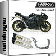 Arrow Hom Nocat Full Exhaust Race-tech Aluminium C Yamaha Yzf 1000 R1 09/14