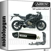 Arrow Homcat Full Exhaust Indy-race Black Aluminium C Honda Cbr 1000 Rr 08/11