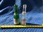 Antique Lakeville Soda Bottle. Webster, Mass. 2 Small. 1 Green. 1 Clear