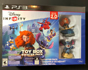 Disney Infinity 2.0 [ Toy Box Starter Pack ] Ps3 New