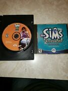 Pair Of The Sims Games Open For Business And Unleashed Expansion Pack Pc Dvd-rom