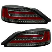 Nissan S15 Silvia 99-02 Sequential Led Smoked Tail Lights Pair -