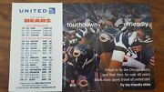 United Nfl Chicago Bears 2015 Magnet Schedule